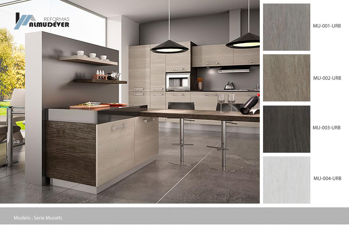 Catálogo muebles de cocina – Almudéver Reformas